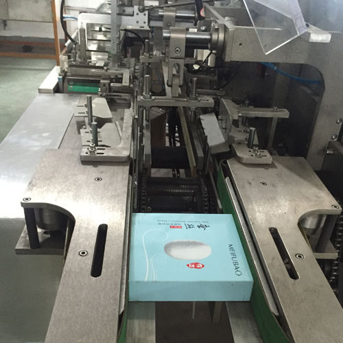 packaging line( cartoner and overwrapper machine)